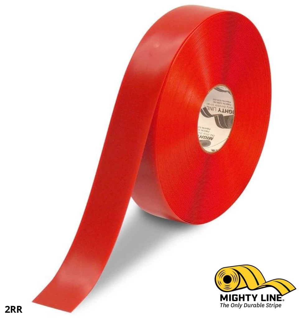Mighty Line 2inch red tape