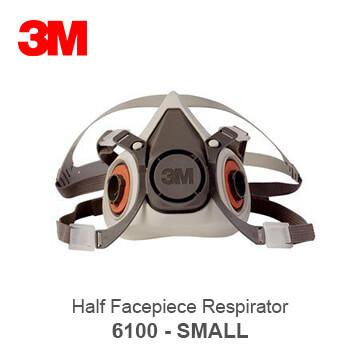 3M half facepiece respirator 6100