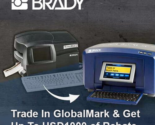 Trade in Brady GlobalMark and get up to $1000 of rebate