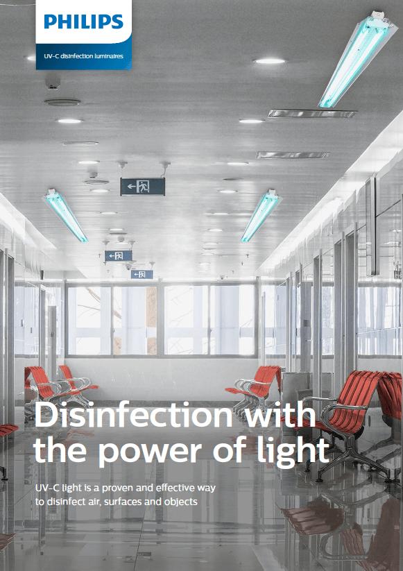 Philips UV-C Disinfection Luminaires