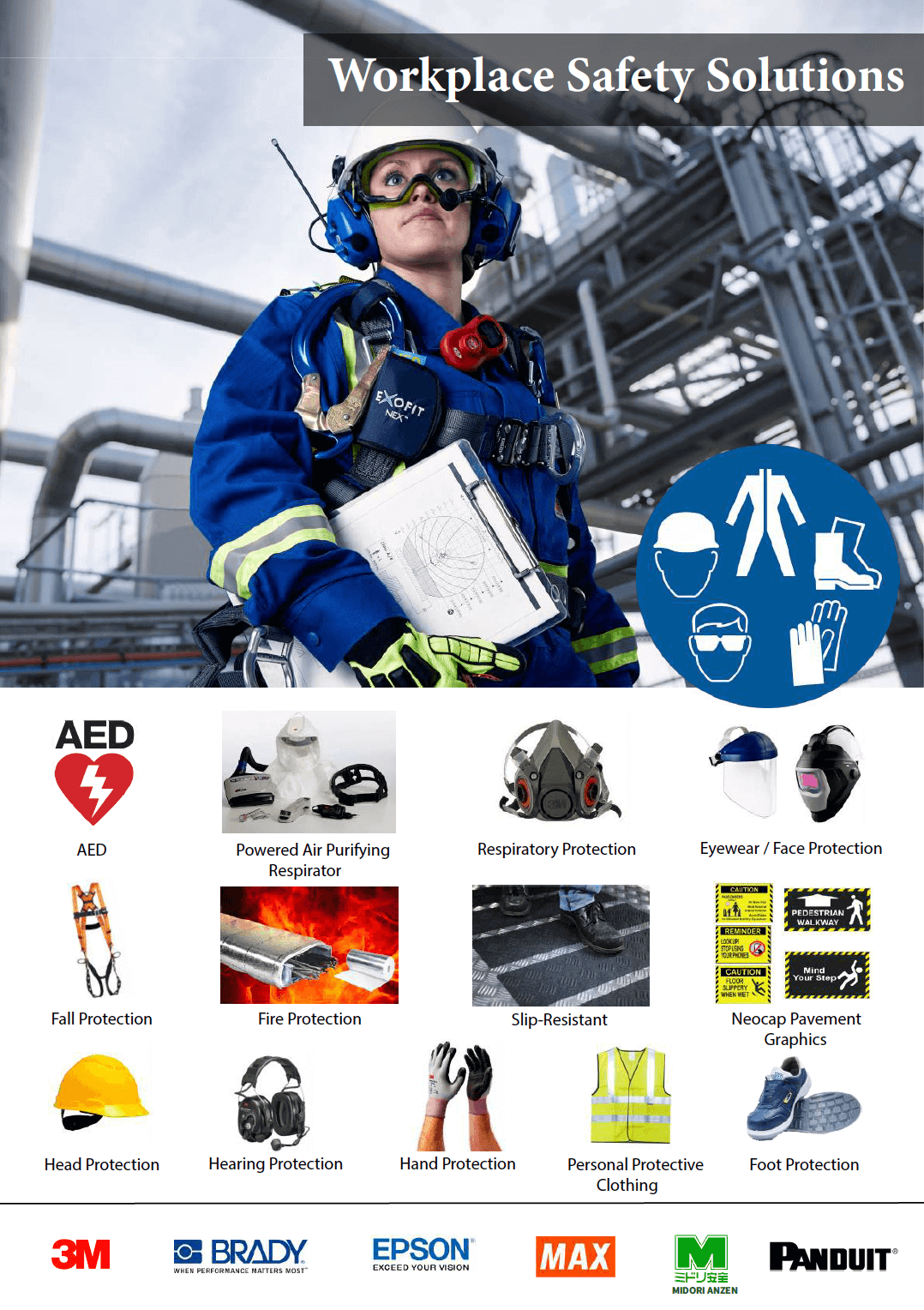 Workplace Safety Solution brochure