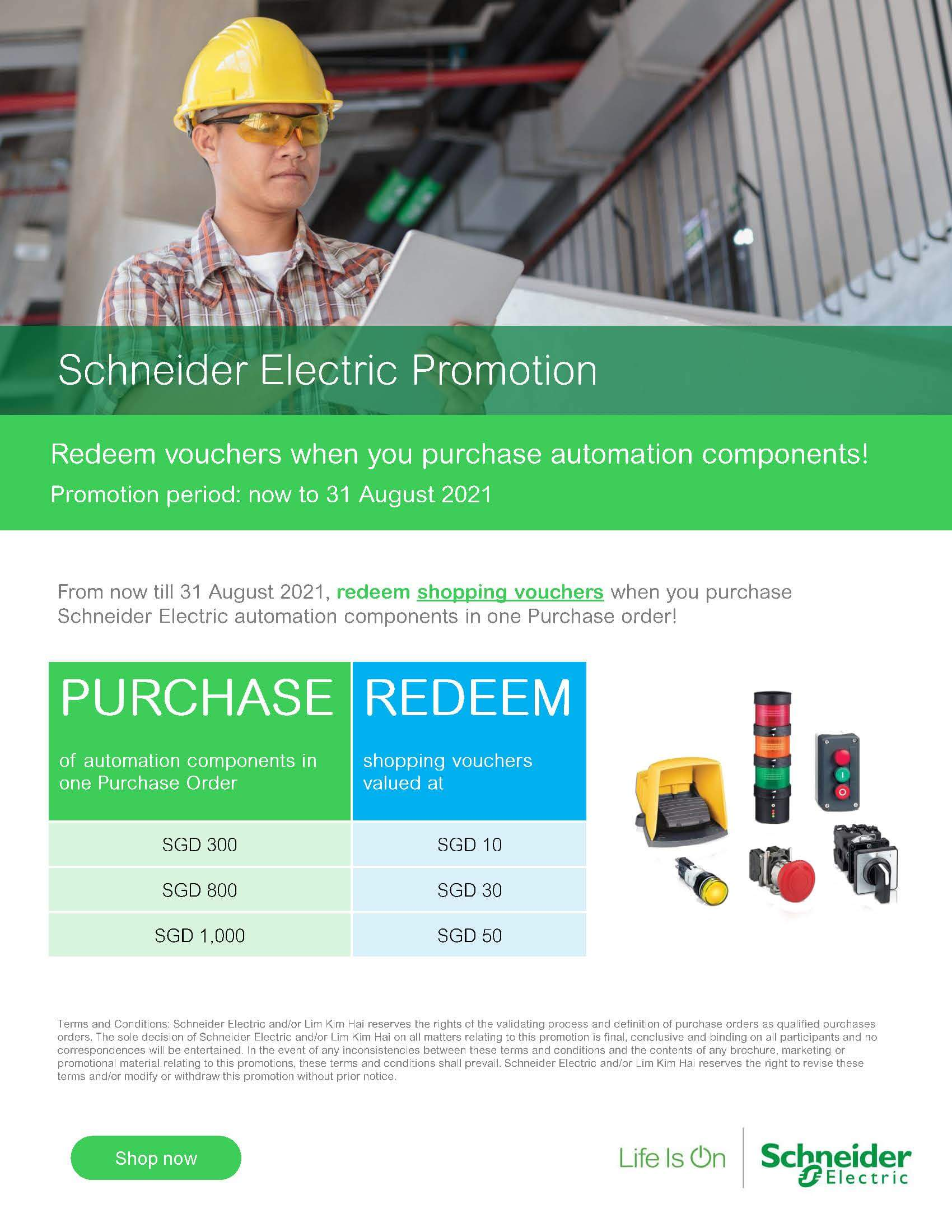 Schneider Electric Industrial Automation Promotion