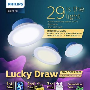 Philips Downlight Promotion
